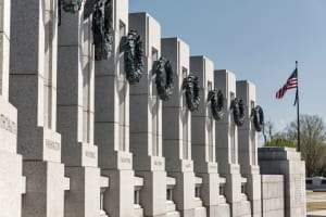 WWII Memorial at Day Time | USAGT DC