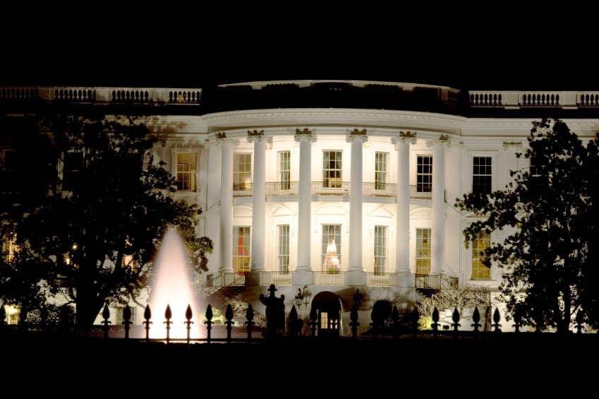 White House at Night, USA Guided Tours