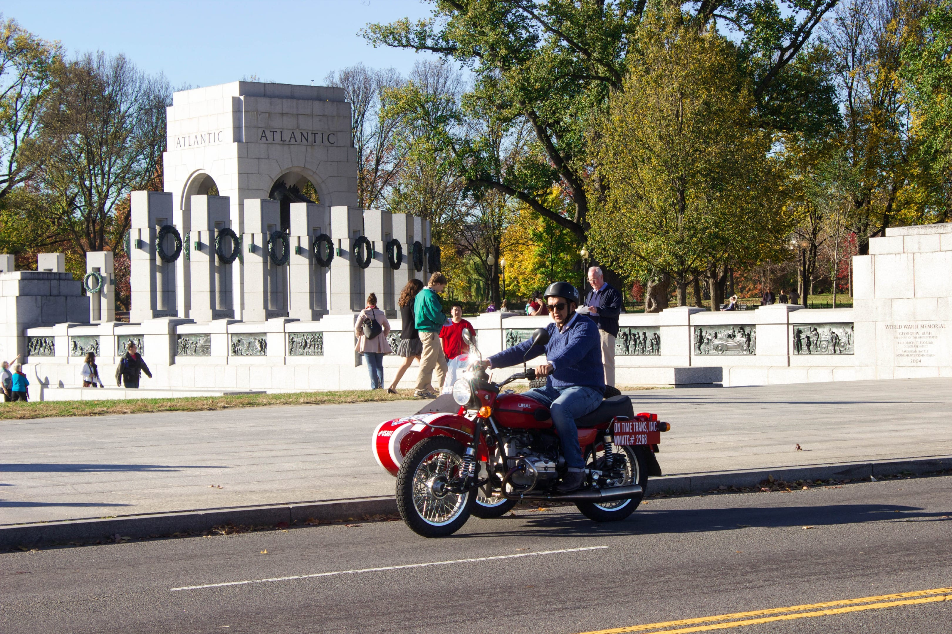 Sidecar Motorcycle Tours by USA Guided Tours DC