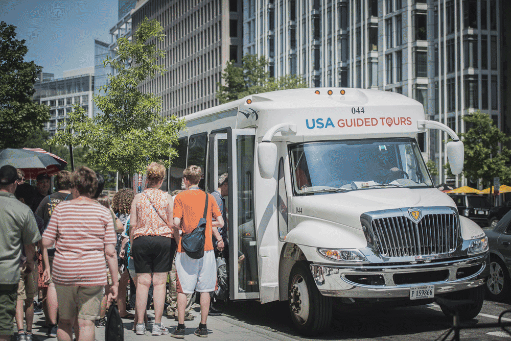 Washington DC Bus Tours by USA Guided Tours DC | Best Guided DC Bus Tours
