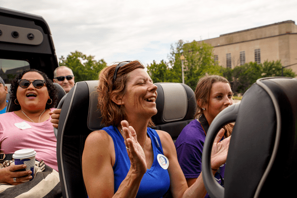 Convertible DC Bus Tour by USA Guided Tours DC