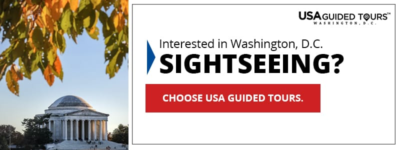 Click here to go sightseeing in Washington DC with USA Guided Tours