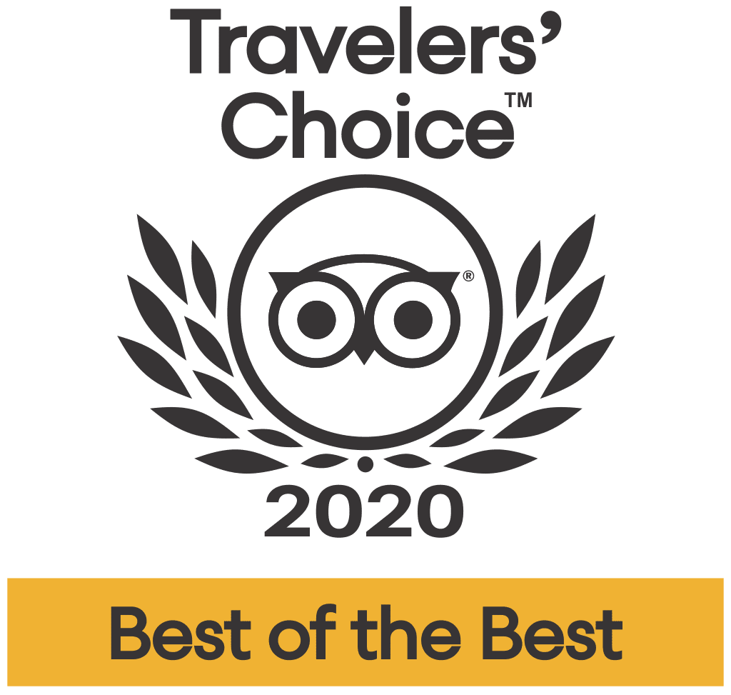 2020 TripAdvisor Travelers' Choice Awards
